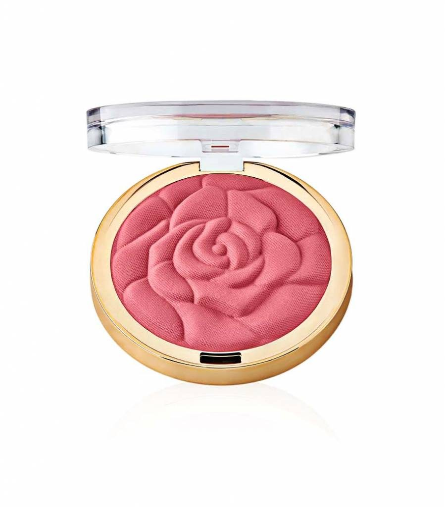 The Milani Rose Blush is one of the makeup products with the most creative packaging