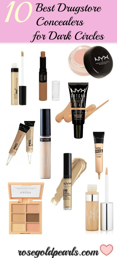 10 best drugstore concealers for dark circcles