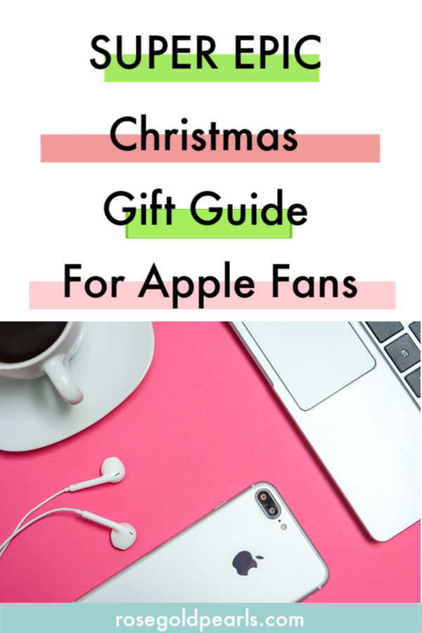 In this christmas gift guide, I'll be sharing some awesome gift ideas for techies, specifically the best gifts for apple fans! For all of team iphone out there, these christmas gift ideas for techies will cater to anyone that owns and loves apple products!