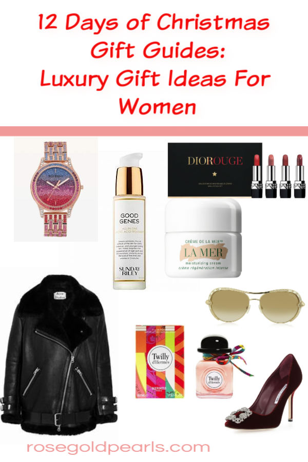 In this installment of the 12 Days of Christmas Gift Guides, We're going through the best luxury gifts for women. These are, IMO, the best christmas luxury gifts for women that are sure to wow your special person in your life. These luxury christmas gifts are so good, you'll want to treat yourself too!