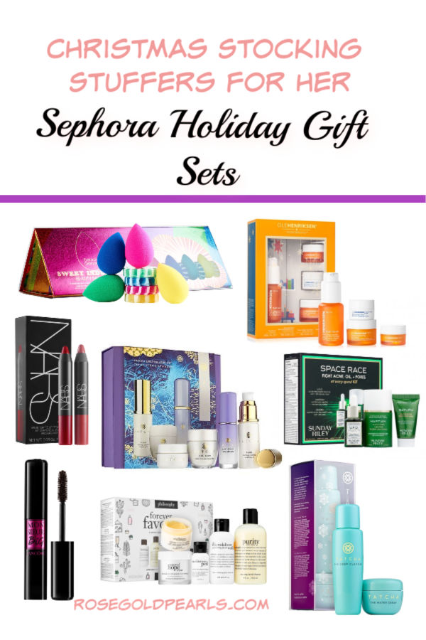 sephora holiday gift sets | stocking stuffers for her