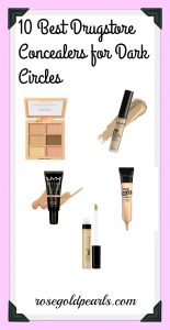 Want help getting rid of dark circles? This blog post covers the top 10 amazing and affordable concealers that'll eliminate dark circles and undereye bags, giving you a flawless look!