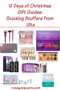 For all your beauty lovving friends, I've gathereed some awesome stocking stuffer ideas from ulta. These christmas gifts for beauty lovers make wonderful Christmas gift ideas from Ulta.