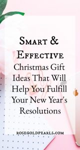 This Christmas gift guide gives you the perfect gift ideas that will help fulfill your new years resolution! If you're serious about fulfilling your new years resolution for 2019, you'll be happy to grab these tools to help you succeed! From books to bullet journals and planners, you're bound to find something to get you geared up and ready for the new year. #newyears #newyearnewme #newyearseve #newyearsevestylechallenge