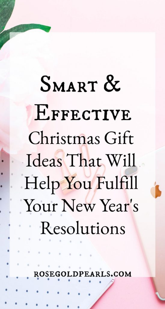 This Christmas gift guide gives you the perfect gift ideas that will help fulfill your new years resolution! If you're serious about fulfilling your new years resolution for 2019, you'll be happy to grab these tools to help you succeed! From books to bullet journals and planners, you're bound to find something to get you geared up and ready for the new year. #newyeears #newyearseve #newyearsresolution #productivitytips #motivation